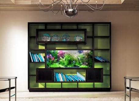 Glamorous Aquariums Design Ideas For Cool Interior Styles To Have07