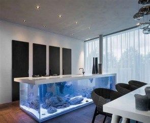 Glamorous Aquariums Design Ideas For Cool Interior Styles To Have19
