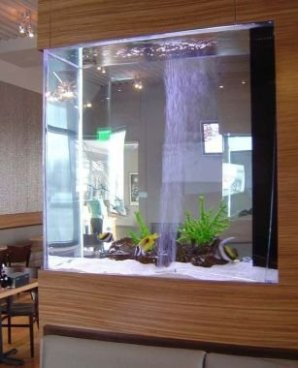 Glamorous Aquariums Design Ideas For Cool Interior Styles To Have29