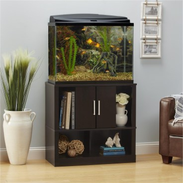 Glamorous Aquariums Design Ideas For Cool Interior Styles To Have30