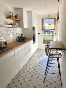 Glamorous Small Kitchen Design Ideas That Can Saving Your Space13