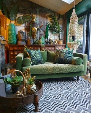 Inexpensive Green Room Designs Ideas On A Budget18