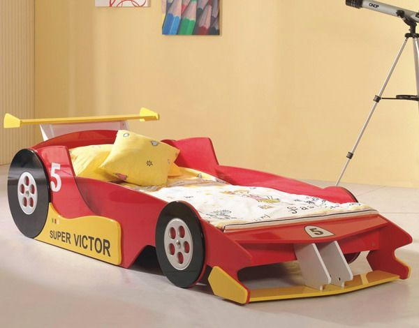 Luxury Kids Bedroom Design Ideas With Car Shaped Beds05