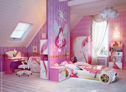 Luxury Kids Bedroom Design Ideas With Car Shaped Beds08