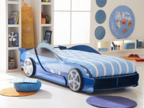 Luxury Kids Bedroom Design Ideas With Car Shaped Beds22