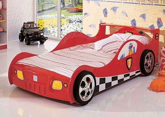 Luxury Kids Bedroom Design Ideas With Car Shaped Beds31