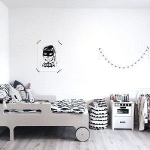 Marvelous Black And White Kids Room Design Ideas To Try This Month09