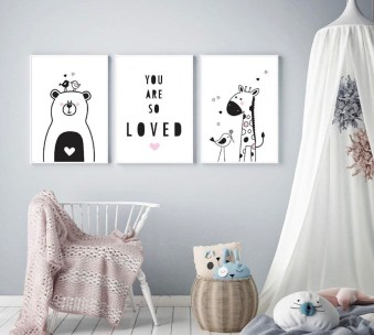 Marvelous Black And White Kids Room Design Ideas To Try This Month10