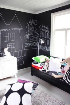 Marvelous Black And White Kids Room Design Ideas To Try This Month19