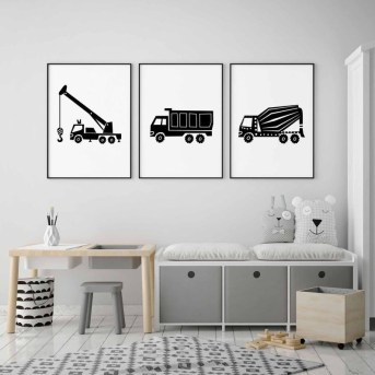 Marvelous Black And White Kids Room Design Ideas To Try This Month20
