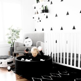 Marvelous Black And White Kids Room Design Ideas To Try This Month29