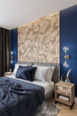Newest Bedroom Design Ideas That Featuring With Wooden Panel Wall04