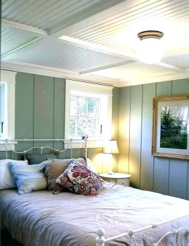 Newest Bedroom Design Ideas That Featuring With Wooden Panel Wall15