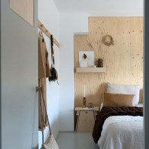 Newest Bedroom Design Ideas That Featuring With Wooden Panel Wall24
