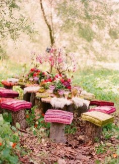 Newest Outdoor Bohemian Dining Room Design Ideas To Try Right Now06