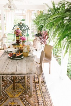 Newest Outdoor Bohemian Dining Room Design Ideas To Try Right Now23