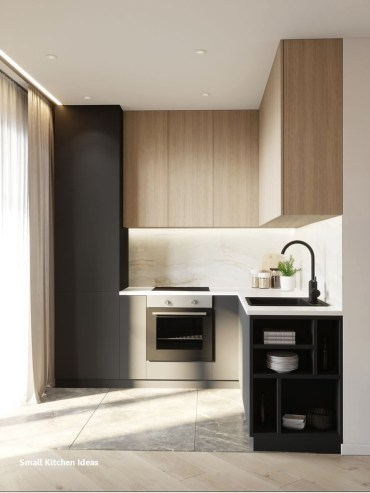 Perfect Kitchen Design Ideas For Small Areas That You Need To Try34
