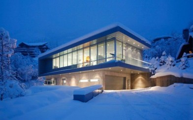 Splendid Glass House Design Ideas With 360 Degree View Of The Mountain06