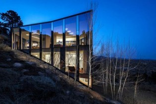 Splendid Glass House Design Ideas With 360 Degree View Of The Mountain17