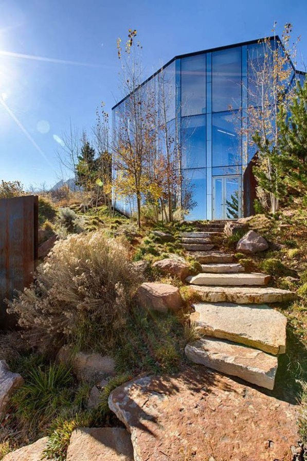 Splendid Glass House Design Ideas With 360 Degree View Of The Mountain27
