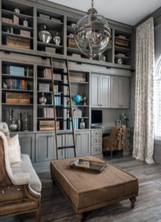 Superb Home Library And Book Storage Design Ideas To Have Asap01