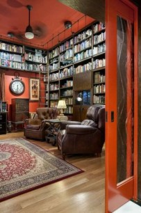 Superb Home Library And Book Storage Design Ideas To Have Asap22