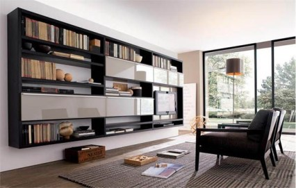 Trendy Plywood Bookshelf Design Ideas With Floating Effects To Try Asap05