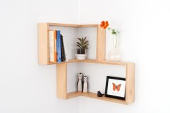 Trendy Plywood Bookshelf Design Ideas With Floating Effects To Try Asap06