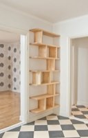 Trendy Plywood Bookshelf Design Ideas With Floating Effects To Try Asap20