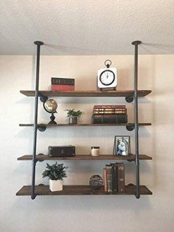 Unusual Industrial Pipe Rack Storage Design Ideas To Try Right Now06