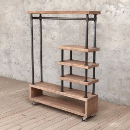 Unusual Industrial Pipe Rack Storage Design Ideas To Try Right Now14