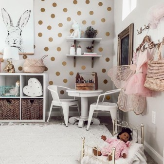 Wondeful Girls Room Design Ideas With Play Houses To Copy01