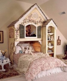 Wondeful Girls Room Design Ideas With Play Houses To Copy07