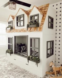 Wondeful Girls Room Design Ideas With Play Houses To Copy15