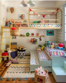Wondeful Girls Room Design Ideas With Play Houses To Copy18