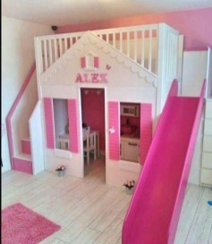 Wondeful Girls Room Design Ideas With Play Houses To Copy23