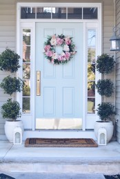 Adorable Front Porch Landscaping Design Ideas To Increase Your Home Style01