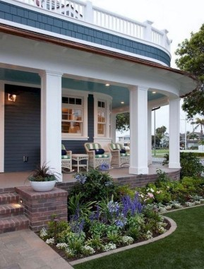 39 Adorable Front Porch Landscaping Design Ideas To Increase Your