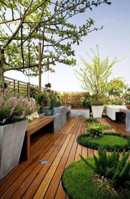 Adorable Rooftop Gardens Design Ideas That Looks Awesome22