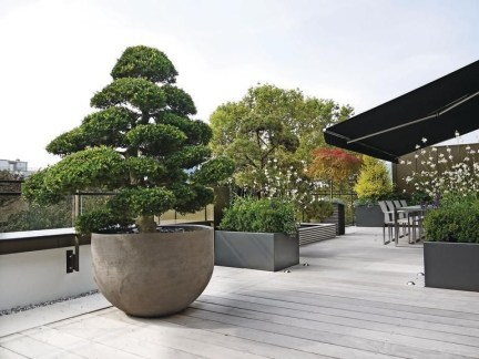 Adorable Rooftop Gardens Design Ideas That Looks Awesome31