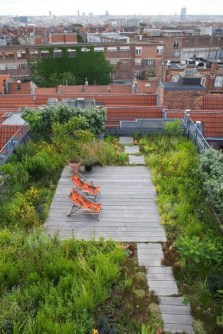 Adorable Rooftop Gardens Design Ideas That Looks Awesome38