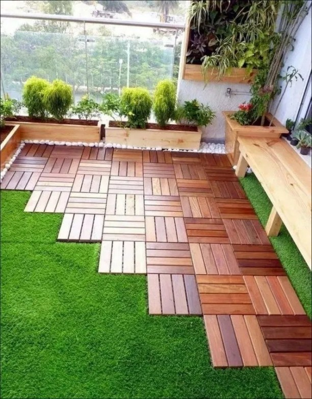 Adorable Rooftop Gardens Design Ideas That Looks Awesome40