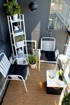 Affordable Small Balcony Design Ideas On A Budget16