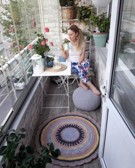 Affordable Small Balcony Design Ideas On A Budget28