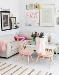Best Pastel Living Rooms Design Ideas With Small Space To Have25