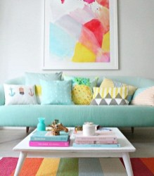 Best Pastel Living Rooms Design Ideas With Small Space To Have29
