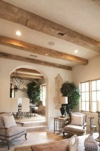 Brilliant Living Room Wood Ceiling Design Ideas That You Should Try05
