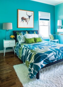 Captivating Colorful Bedroom Design Ideas That Looks So Lovely05