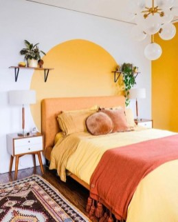 Captivating Colorful Bedroom Design Ideas That Looks So Lovely19