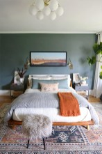 Captivating Colorful Bedroom Design Ideas That Looks So Lovely30